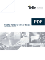 Telit HE910 Hardware User Guide r6