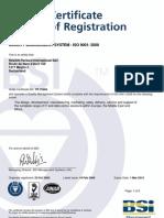 Certificate HP