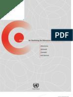 MDG Indicator Monitoring Handbook English