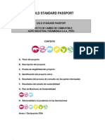 Gold Standard PASSPORT Proyecto Cambio de Combustible Aipsa