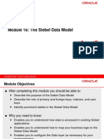 16 the Siebel Data Model