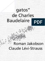 Lévi-Strauss, Claude - Los Gatos De Charles Baudelaire