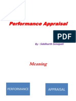 Final Performance Appraisal