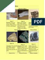 fotos y carcaterísticas de Minerales