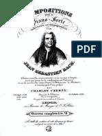 J S Bach - 6 Kleine Preludes Oeves Complets Peters Liv 7 BWV 933-938 2748 Digitado