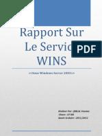 Rapport Systéme WINS