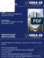 Apresentação Institucional do Crea-CE_29fev12
