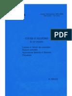 Algèbre 1 - Logique et théorie des ensembles, espaces vectoriels, applications linéaires et matrices, polynômes