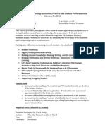 Strgh Inst Prac&Stdnt Perf - EDLT 200 ST1 - Course Syllabus