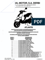 50cc 2T Atlantis Parts Manual 09 00