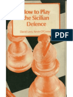 [Chess] How to Play the Sicilian Defence - D. Levy & K. O'Connell