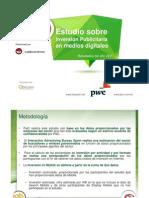 Estudio inversión publicitaria en medios digitales (iab Spain) 2011