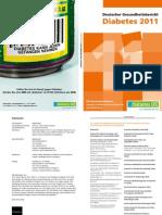 Deutscher Gesundheitsbericht Diabet