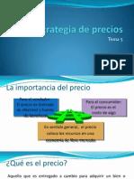 Tema 5 Estrategia de Precios