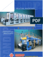 Sandip Machinery Mfrs Co Rotogravure Printing Machine