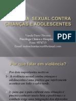 Violência  sexual de crianças e adolescentes