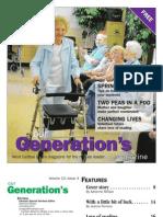 Our Generation's Magazine - April 2012