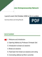 2002-10-04 V2 SaS INSEAD-Wharton Entrepreneurship Network Event 3rd October - All Slides