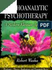 Psychoanalytic Psychotherapy-Modern Kleinian Approach - Waska