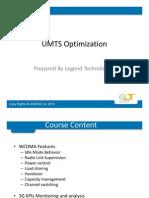 WCDMA Optimization