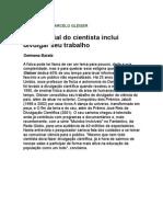 Germana Barata - Papel Social Do Cientista Inclui Divulgar o Seu Trabalho - Entrevista Marcelo Gleiser - física