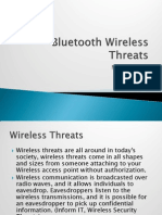 Bluetooth Wireless Threats