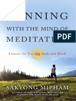 Running With the Mind of Meditation by Sakyong Mipham - Excerpt