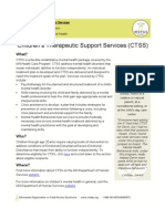 Children\'s Therapeutic Support Services