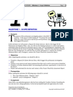 Case Study CTTS   Milestone    Object Analysis Solution    Feasibility  Matrix Example