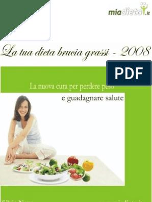 tabella di dieta dissociata pdf da stampare