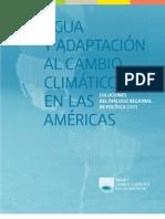 Agua y adaptacion al cambio climatico en las America