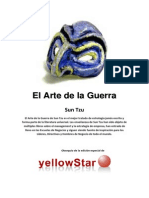 Yellow Star El Arte de La Guerra Sun Tzu