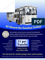 Kona Trolley Schedule[1]