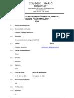 INFORME AUTOEVALUACIÓN 2011 - Revisada