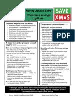 Money Advice Extra Xmas Briefing Dec 08