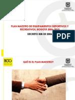 Borrador Plan Maestro mejora de parques-Bogotá