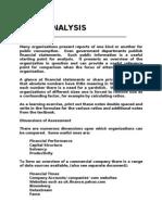 Financial Analysis Notes Gaps