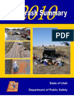 Utah Crash Summary 2010
