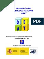 ODAT - Normas de Uso 2008