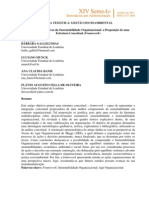 Bases Compreensivas da Sustentabilidade Organizacional