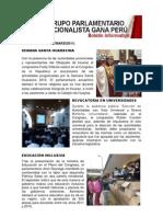 Bancada Nacionalista Gana Perú - Boletín Nº 21