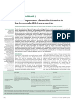 Barriers to Improvement of Mental Health Services in Low-Income and Middle-Income Countries