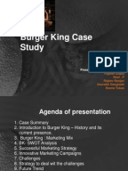 burger king case study analysis Case study and swot analysis: ronald mcdonald's the largest rival of mcdonald's worldwide – burger king given the findings of this case study, mcdonald.