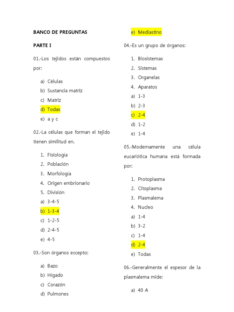Increíble Anatomía Humana Y Fisiología Del Examen Final Foto ...