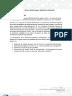 Descripción Sistema de Control de Acceso - Comercializadora Becor