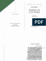 A Ciência do Costume. In. Padrões de Cultura. Lisboa, 2000. - BENEDICT, R