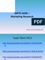 Lecture 1_Introduction to Marketing Research