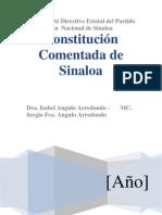 Constitucion Comentada Del Edo. de Sinaloa