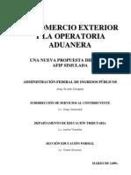 El Comercio Exterior y La Operatoria Aduanera