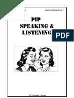 Speaking & Listening Workshop